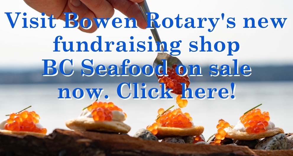Announcement of Bowen Rotary new online shop