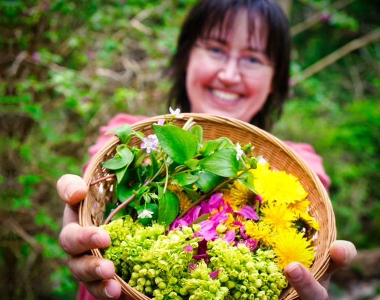 Ethical foraging on Bowen Island by Emily van Lidth de Jeude